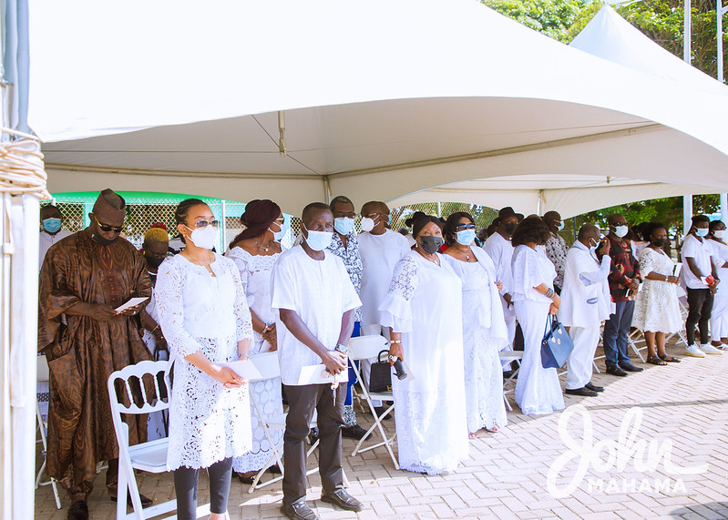 Photos: 9th wreath-laying ceremony for late John Evans Atta-Mills