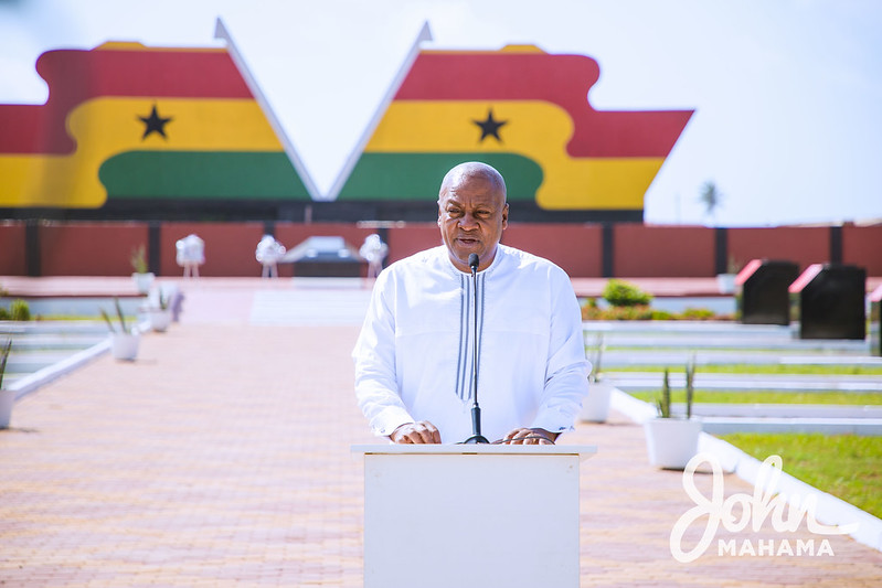 He was a father for all - John Mahama eulogises Prof Atta Mills at 9th wreath laying ceremony