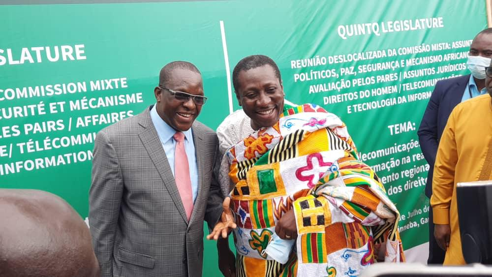 Afenyo Markin charges ECOWAS to double effort in use of ICT for solutions to Africa's challenges