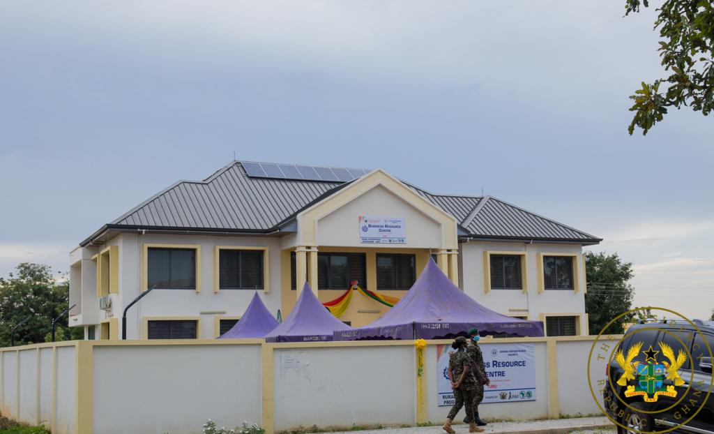 Akufo-Addo commissions Tumu Business Resource Centre