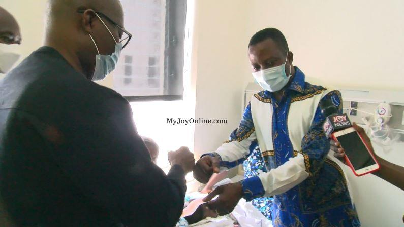 Amasaman MP donates towards surgery for Siamese twins, announces educational scholarship