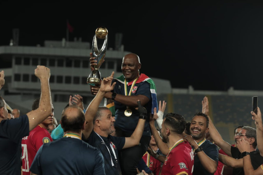 CAF CL: Egypt's Al Ahly beat Kaizer Chiefs 3-0 to win record tenth African crown