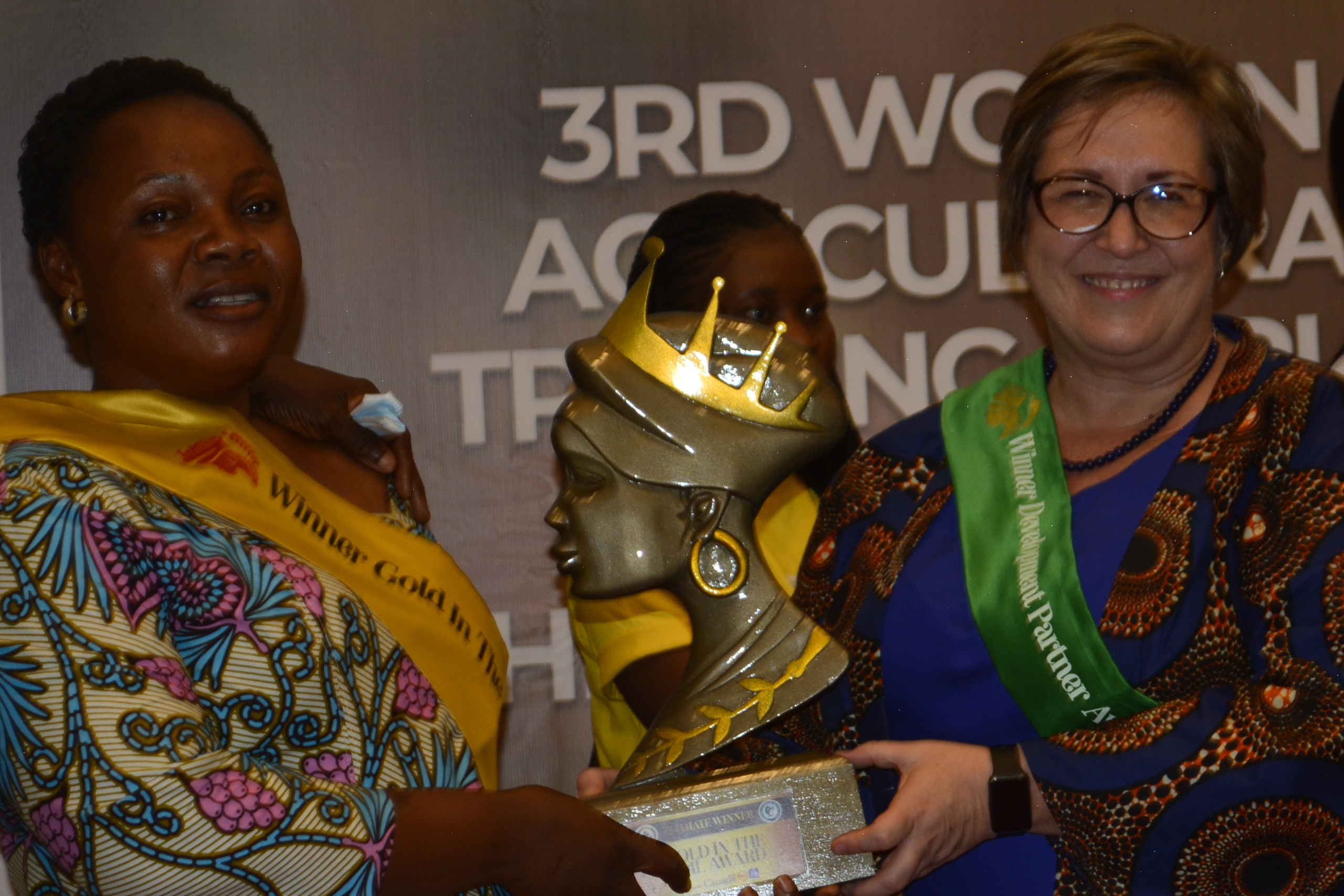 Women in Agric honoured at 3rd edition of WOFAGRIC and Gold In The Soil Awards