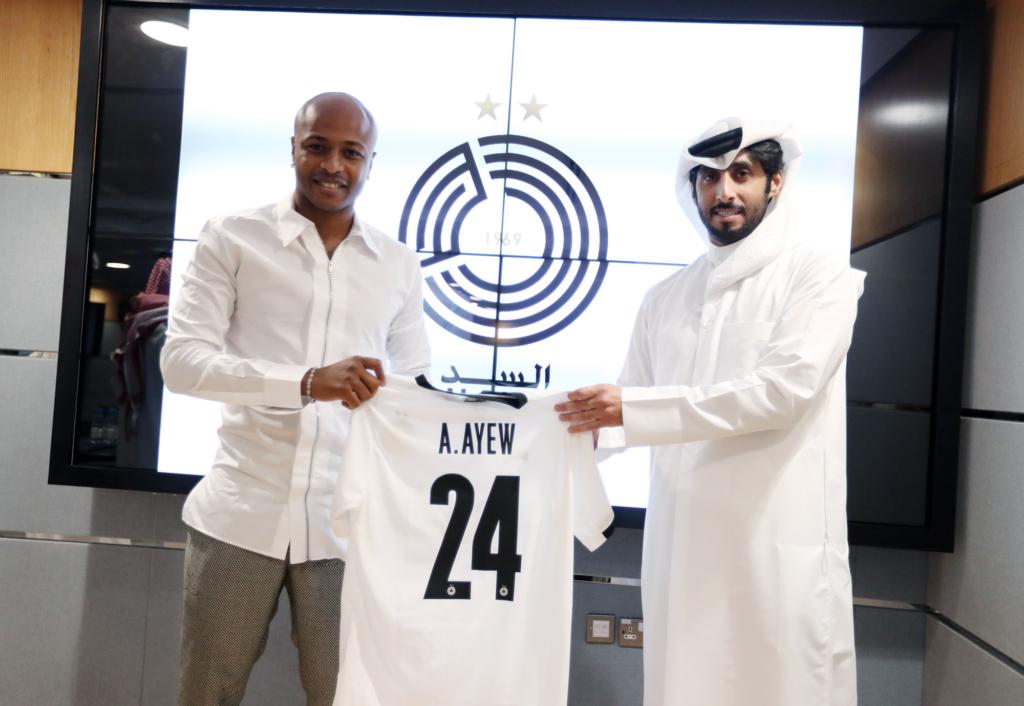 Al Sadd unveil Ghana captain Andre Ayew