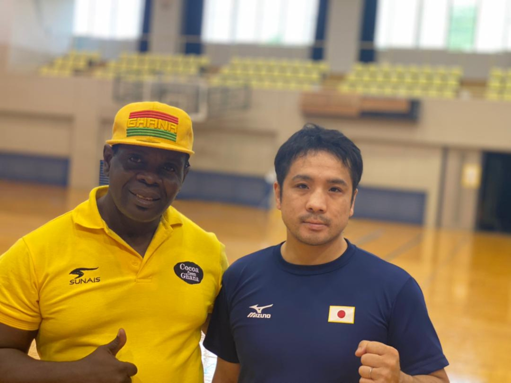 Training with the Japanese will help our boxers - Black Bombers coach