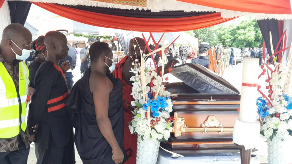 Photos: Police officer killed in Jamestown bullion van attack buried