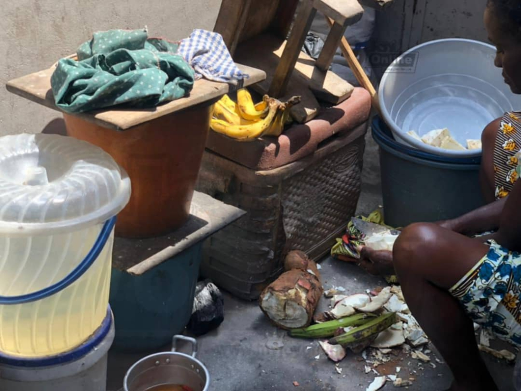 AMA officials clamp down on unhygienic kenkey joints, seize fermented dough