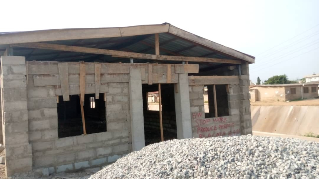 Greater Accra Regional Minister intensifies 'Make Accra work' campaign by demolishing illegal structures