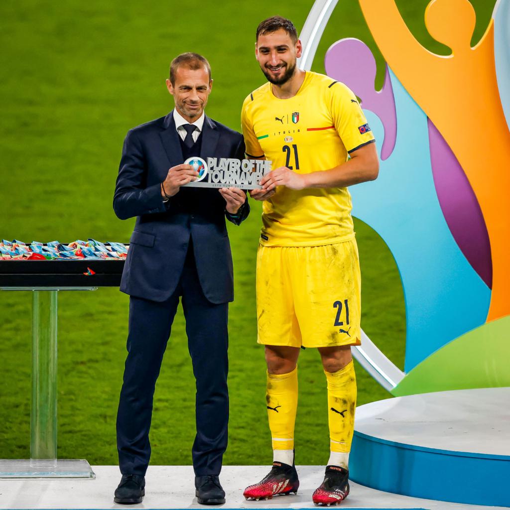 Euros On MGL: Italy goalkeeper Gianluigi Donnarumma named player of the tournament