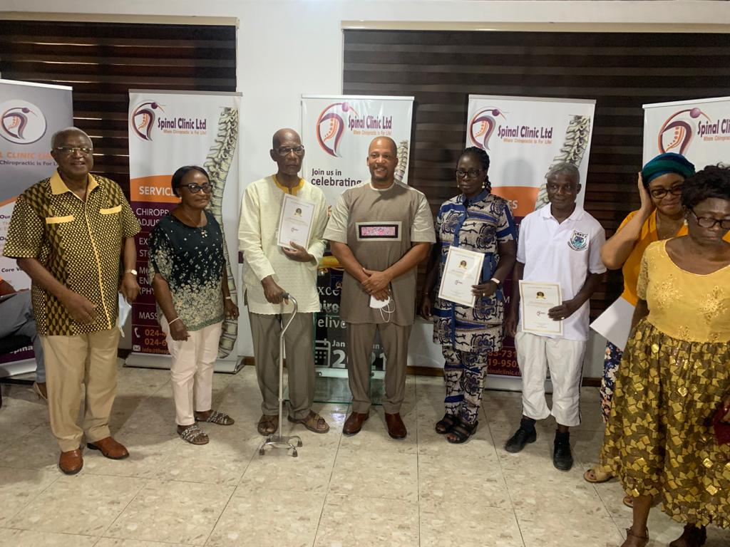 Spinal Clinic CEO reiterates his commitment to establish Chiropractic University in Ghana