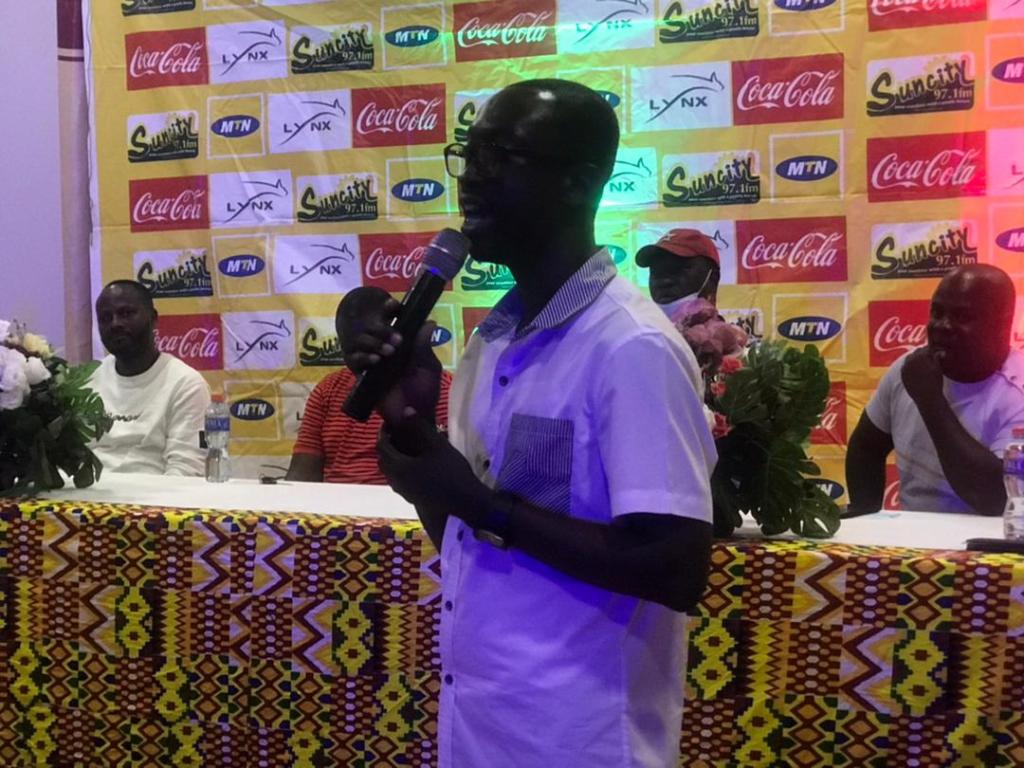 Dr Gideon Boako donates ₵10k to Tano Bofoakwa F.C