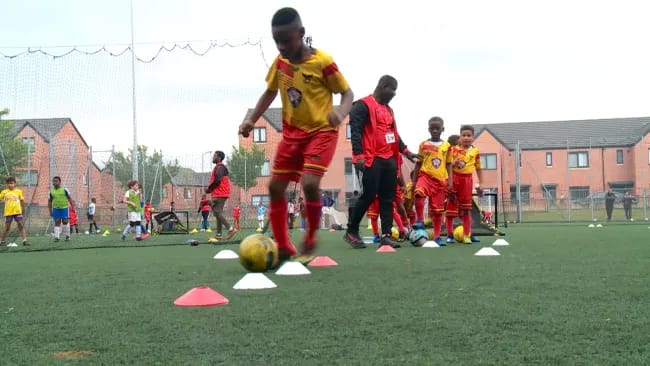 Coach Hene Sports Club named after EK Afranie is the fastest growing grassroots club in Manchester