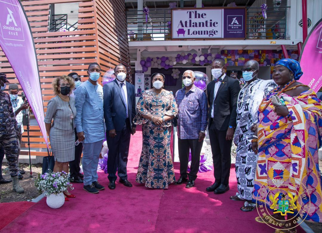 First Lady commissions waiting lounge at Korle-Bu Teaching Hospital