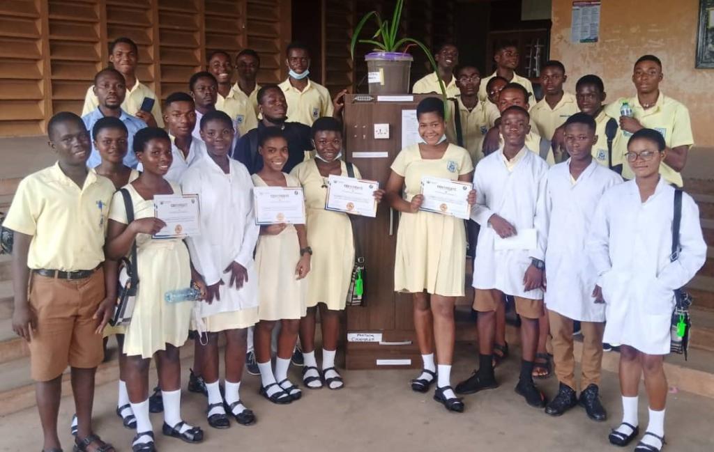 Gyaama Pensan Senior High wins Renewable Energy Challenge for Ashanti Region