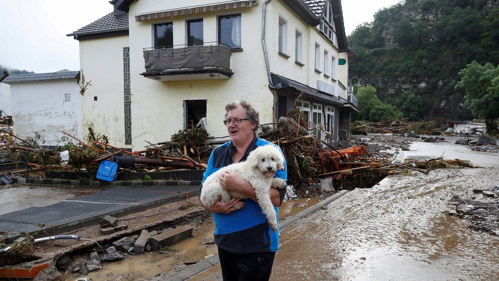 Germany floods: At least 80 dead and hundreds unaccounted for
