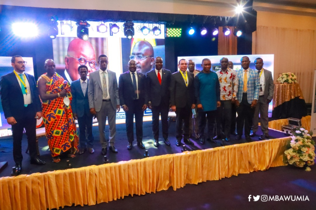 Ghana building an integrated, inclusive gold industry – Bawumia