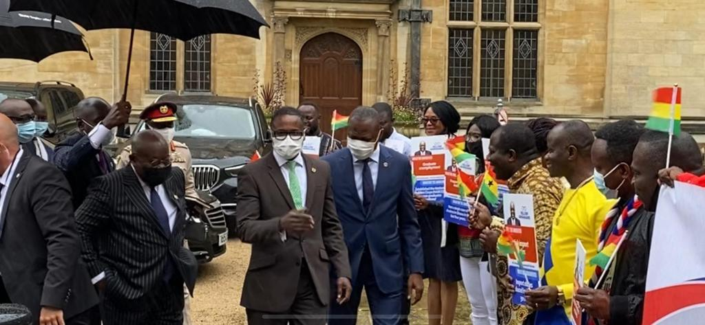 Ghanaians in UK hail Akufo-Addo-led administration