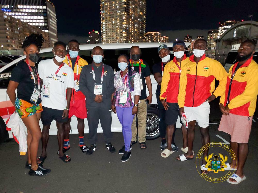 Sports Minister inspires Ghanaian Olympians to make Ghana and themselves proud