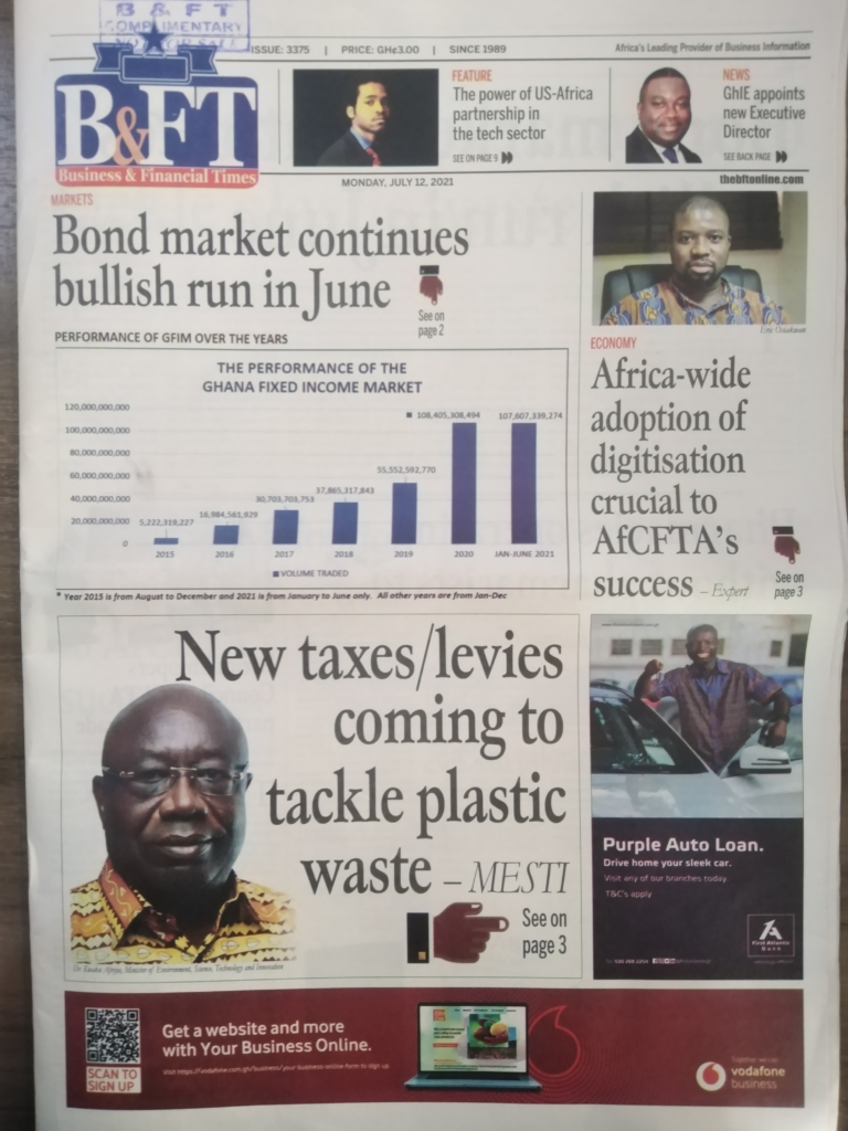 Today's front pages: Monday, July 12, 2021