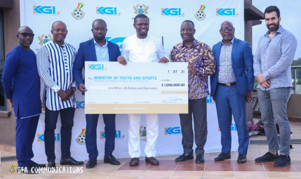 KGL Group supports national sports teams with $1m
