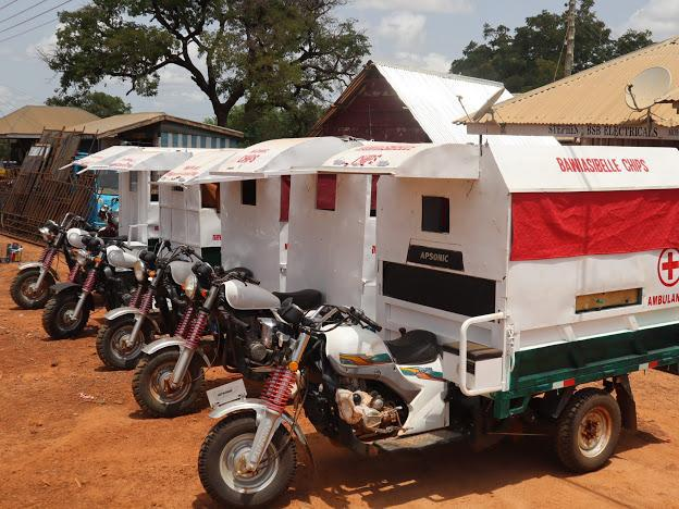 Moving health is the future of community emergency medical transport system