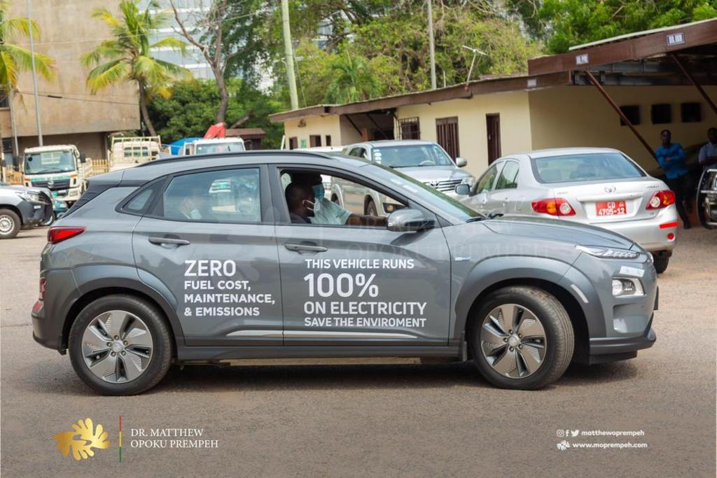 Electric vehicles: Draft policy ready by end of year – Energy Minister