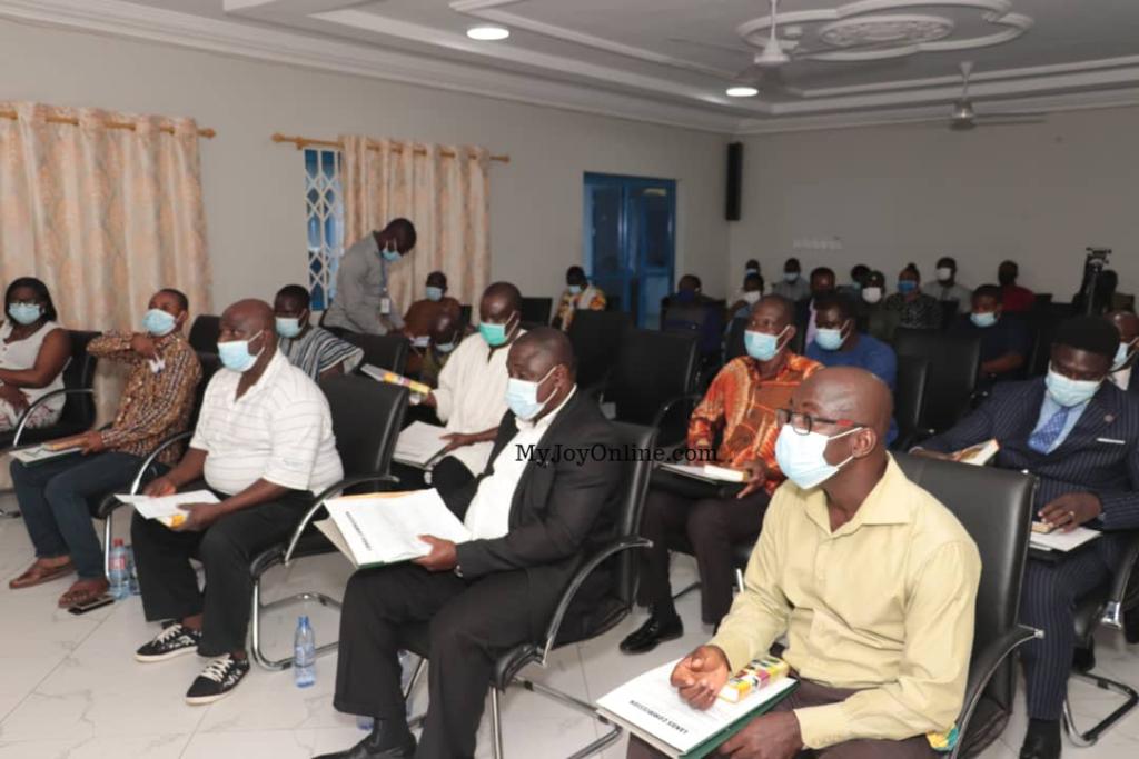 15-member Lands Commission team inaugurated in Oti Region