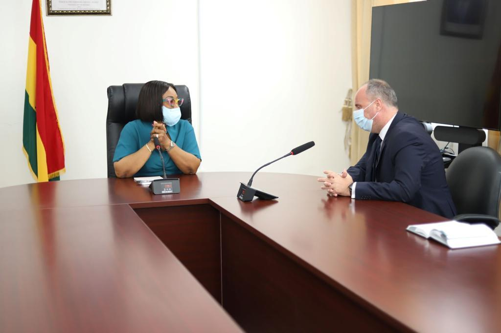 Foreign Affairs and Regional Integration Minister bids farewell to outgoing Hungary Ambassador