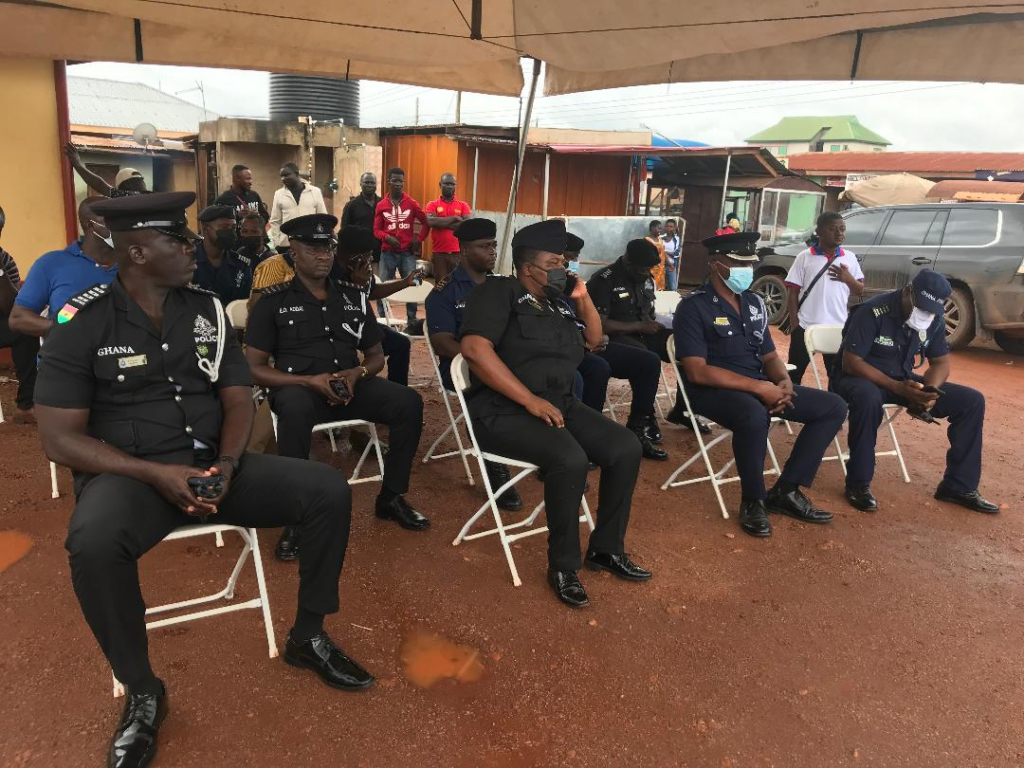 Deputy Defence Minister supports Atwima Kwanwoma Police with motorbikes