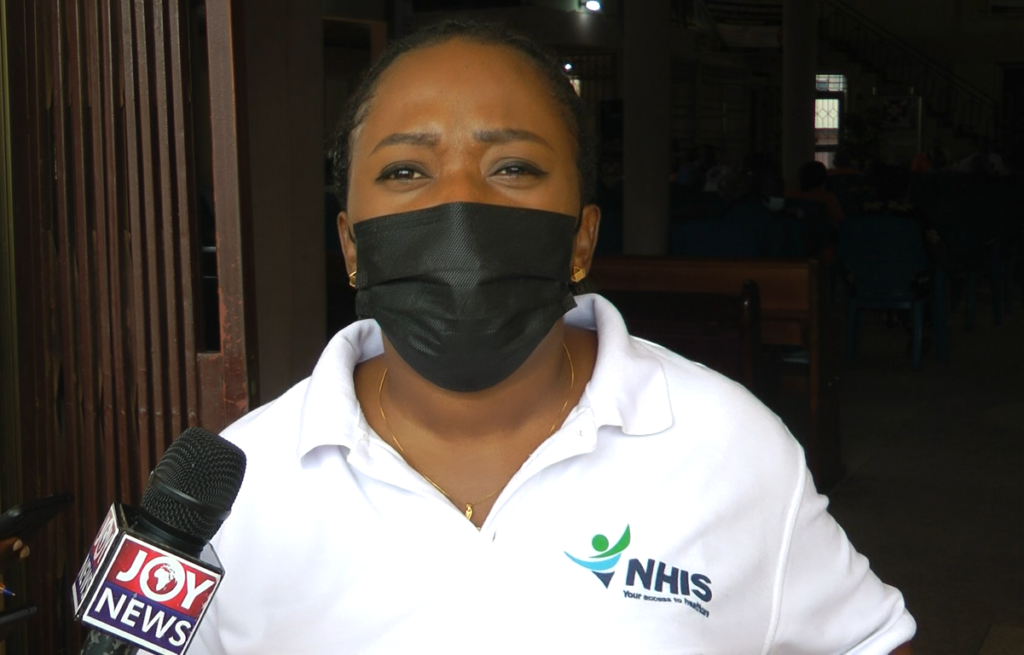 NHIS officials educate prisoners on merger with Ghana card
