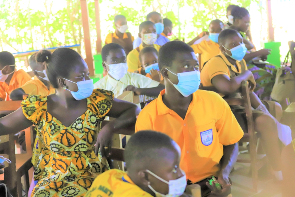 Right To Play organises junior leaders training for children in Ga South, Weija-Gbawe
