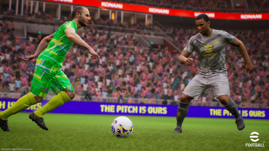 PES has been renamed eFootball, and it's fully Free-to-Play