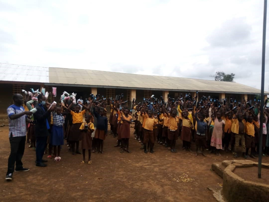 NGO implements project to improve water hygiene in basic schools