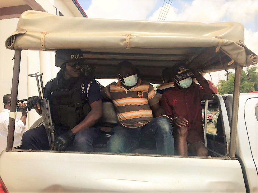 Ejura Murder: 3 accused persons remanded into police custody