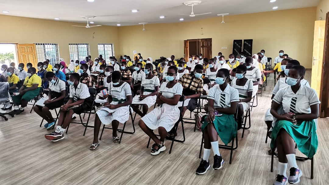 NGO educates over 80 female students on sexual reproductive health