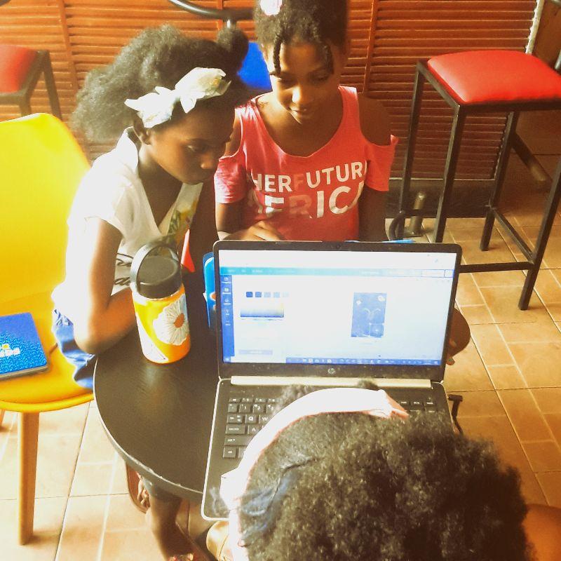 Virtual Hub Ghana sponsors The Code, a youth creative tech program