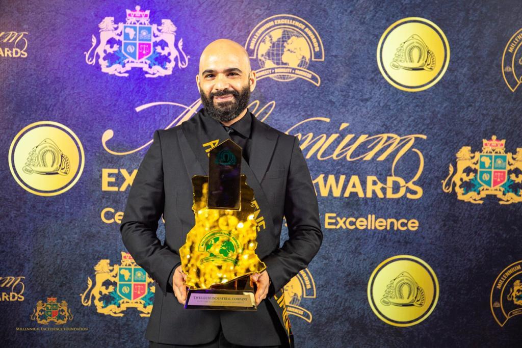 Twellium Foundation honoured at Millennium Excellence Awards for continuous generosity