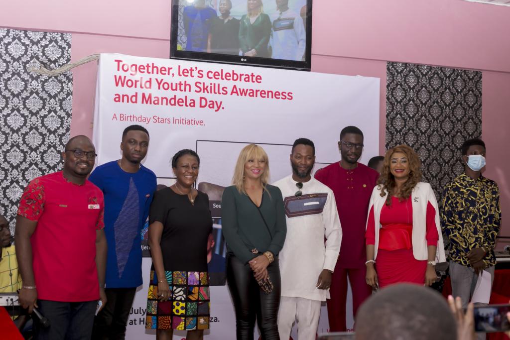 Vodafone Foundation celebrates young talents to mark World Youth Skills Day and Nelson Mandela Day