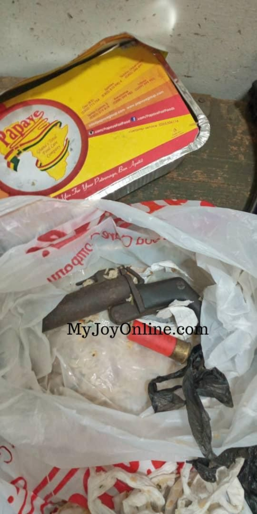 Cantonment police intercepts weapon hidden in food for inmate