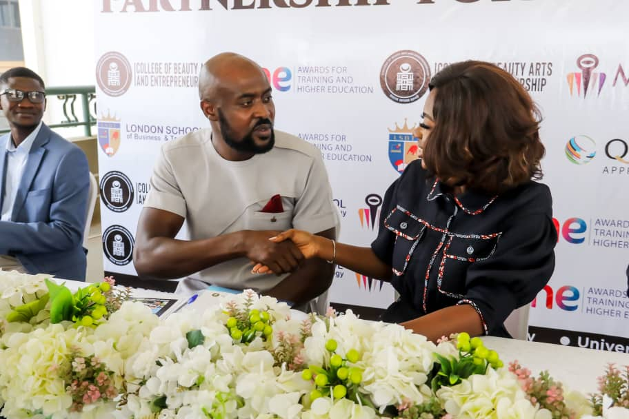 College Of Beauty Arts and Entrepreneurship partners with London School of Business and Technology to offer quality education in Ghana