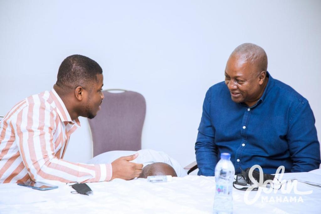 Mahama opens NDC communicators retreat in Ho