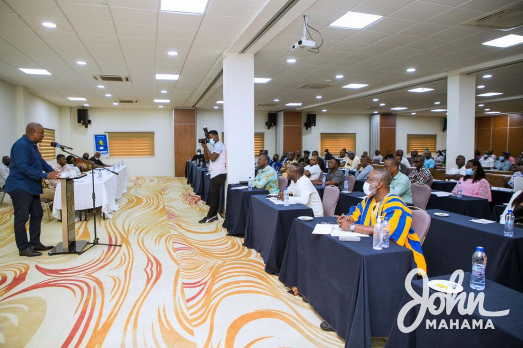 NDC concludes 3-day communication workshop in Ho