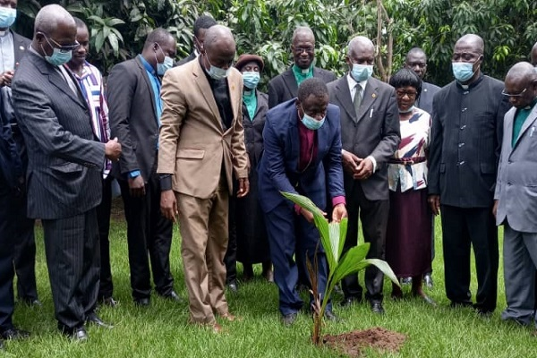 Wenchi Diocese of Methodist Church begins planting of 2,500 trees to complement Green Ghana Project