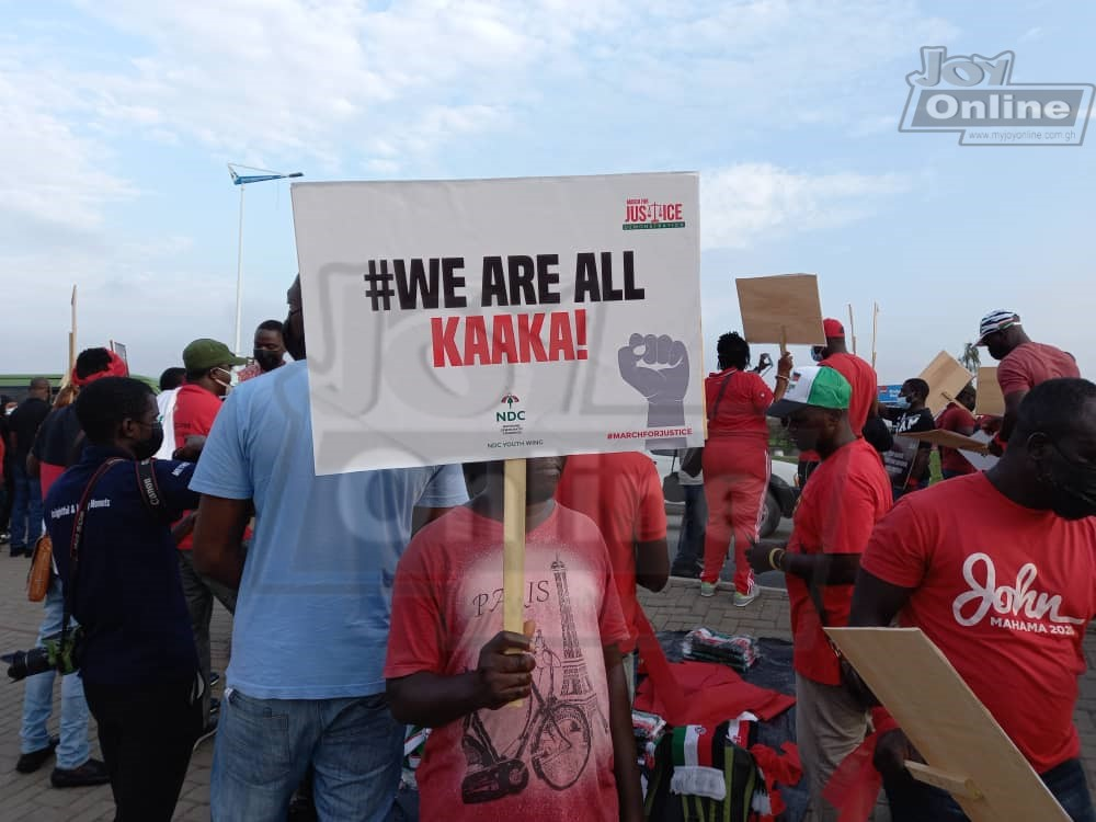 Photos: NDC 'March for Justice'