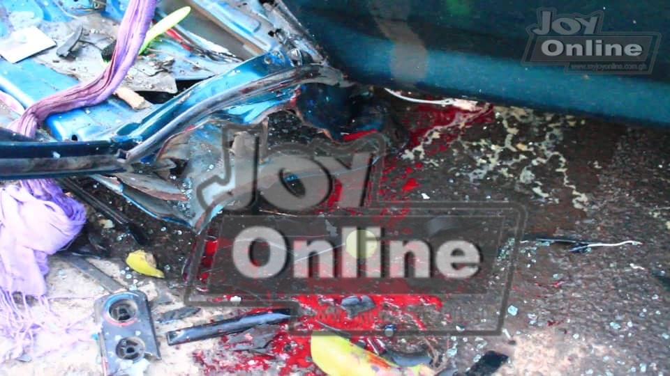 5 dead, 5 injured in accident on Accra- Kumasi Highway