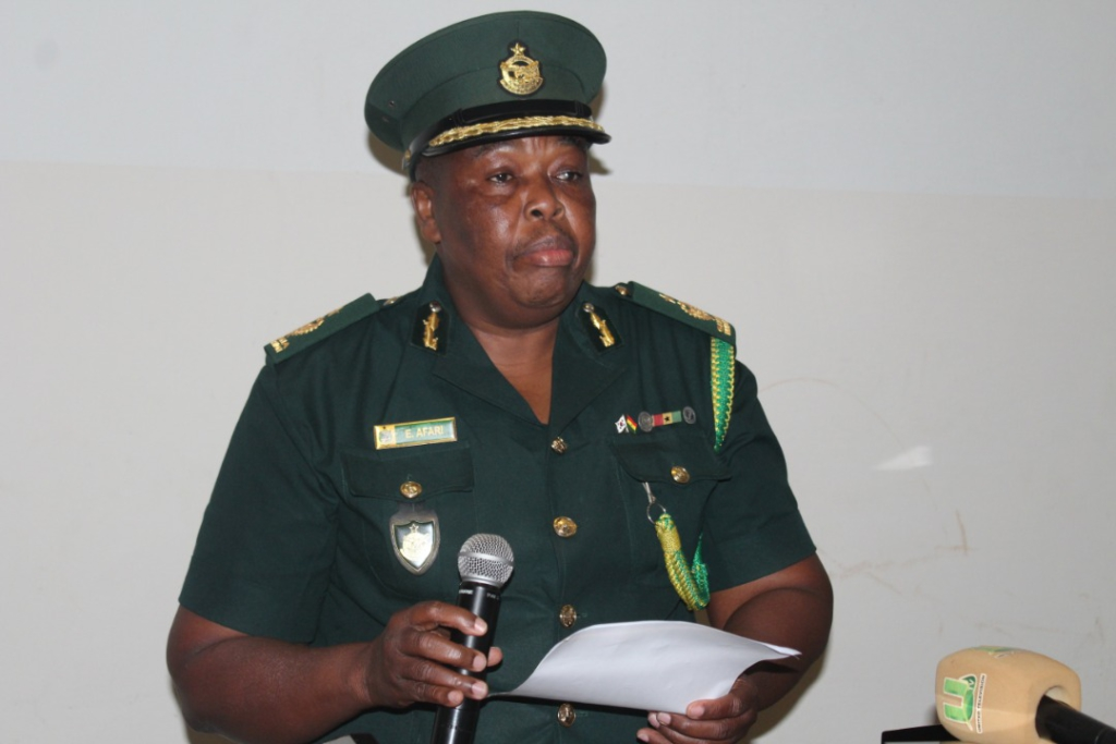 Immigration officers receive training in document security in Sunyani