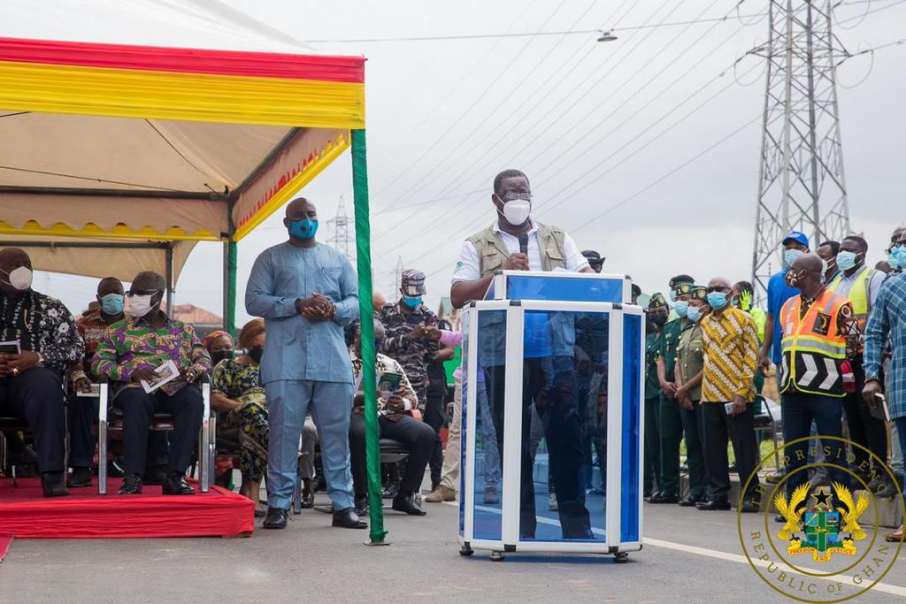Akufo-Addo commissions 4-tier Pokuase interchange; 1st of its kind in West Africa