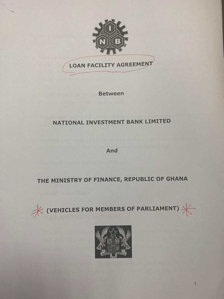 Government to pay 60% of car loan for 275 MPs and 31 Council of State members