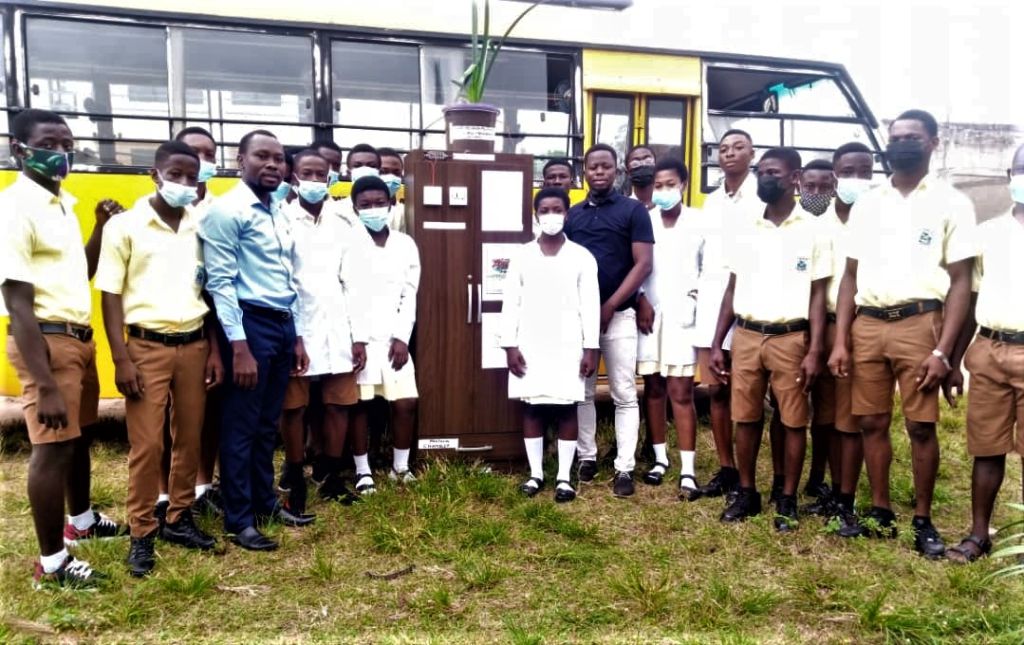 Gyaama Pensan Senior High develops technology to generate electricity from plant and soil bacteria