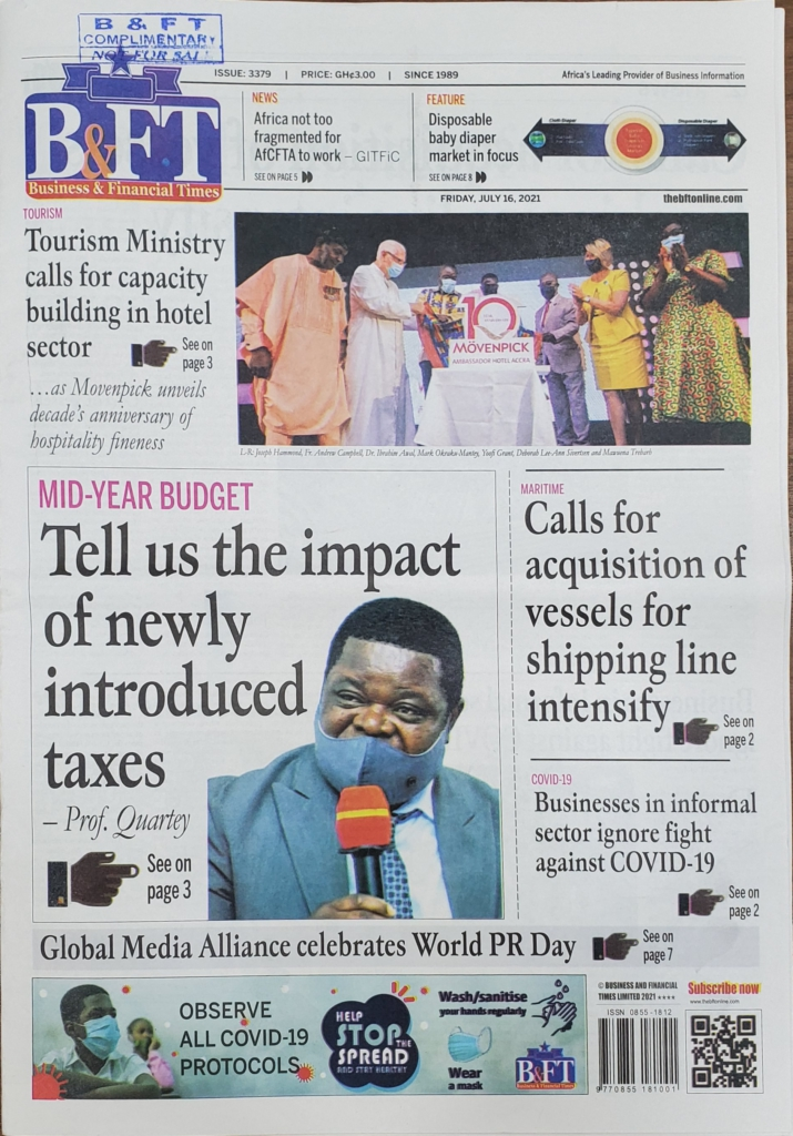 Today's frontpages: Friday, July 16, 2021